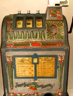 förstaspelautomaten